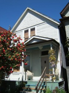 Nora Hendrix lived in this Strathcona house from 1938 to 1952