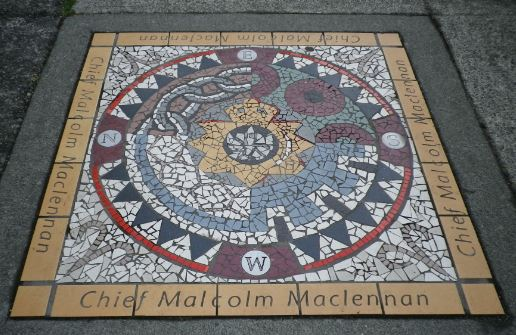 Memorial to Chief Malcolm Mclennan