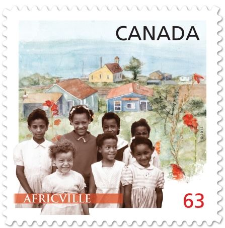 Canada Post chose Africville to represent Black History month