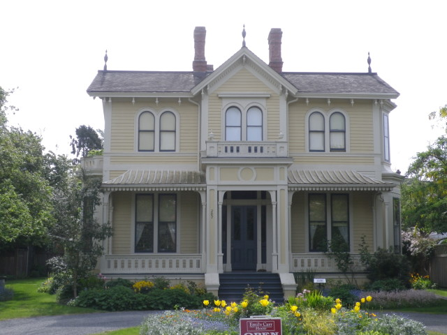 Emily Carr house, 207 Government Street