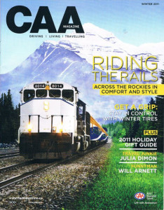 Riding the Rails--taking the Rocky Mountaineer from Vancouver to Banff