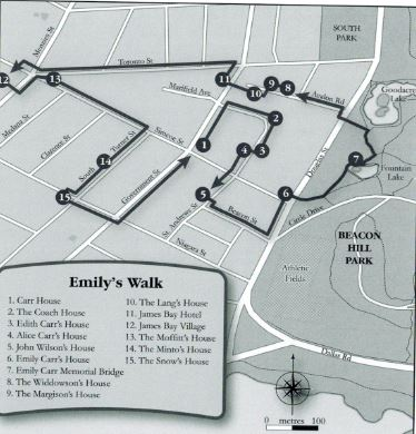 A walking tour of James Bay with Emily Carr