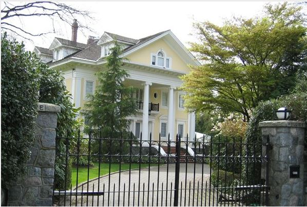 The Top 10 Most Expensive Houses In Bc Nine Are In Vancouver Eve Lazarus