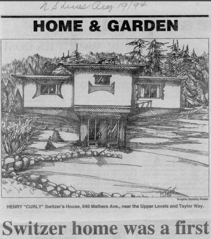 North Shore News, August 19, 1994. Courtesy West Vancouver Museum.