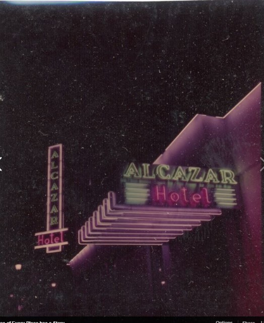 Alcazar Hotel, ca.1955 Jan de Haas photo, courtesy Wiebe de Haas