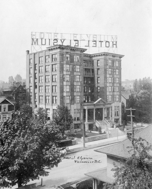 The Hotel Elysium ca.1911 CVA Hot P16