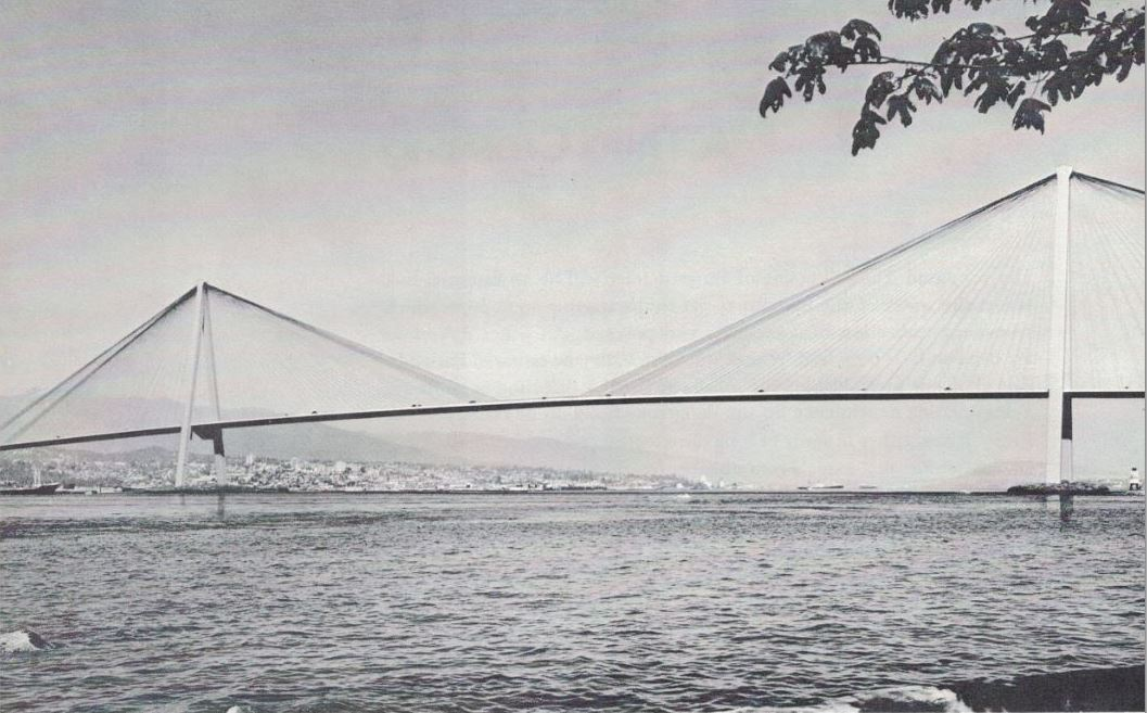 The world's biggest cable-stayed bridge off Brockton Point would be 8% less costly than a tunnel on the same alignment (Vancouver Tomorrow: A search for greatness)