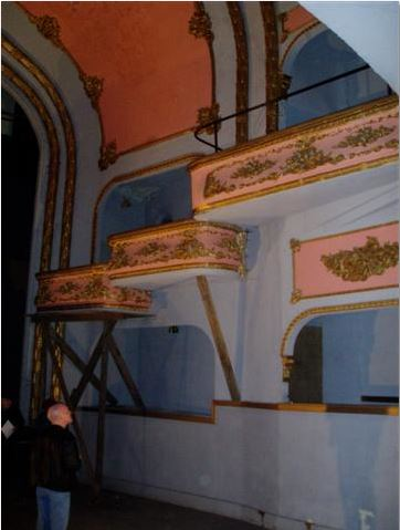 Pantages interior in 2006
