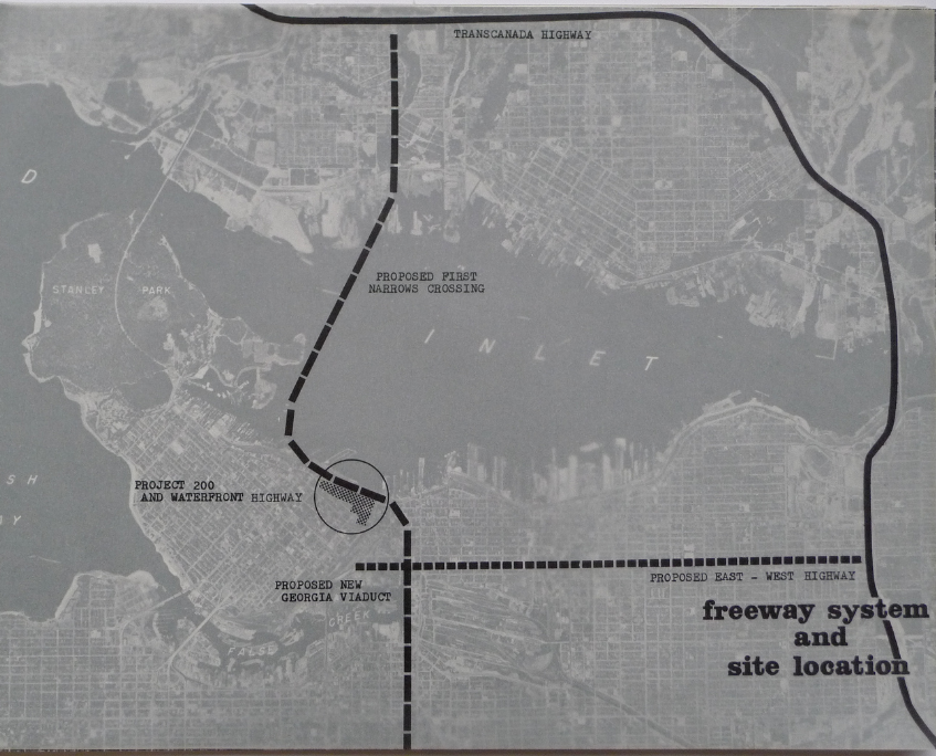 The freeway system under Project 200, 1968