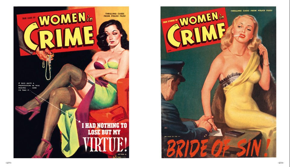 1930s detective story with a sexy twist 9